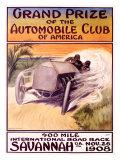 Automobile Club of America, Savannah Race Giclee Print by Malcolm A. Strauss