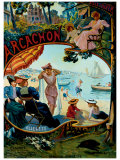 Arcachon Giclee Print by Hermann Delpech