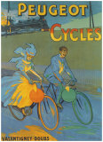 Cycles Peugeot Giclee Print