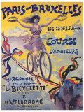 Paris-Bruxelles, Course d'Amateurs Lámina giclée por  PAL (Jean de Paleologue)