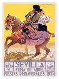 Sevilla Stampa giclée di  Hohenleiter