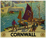 Cornwall Giclee Print by Ronald Lampitt