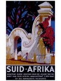 Suid Afrika Giclée-tryk af J. Térence Mclaw