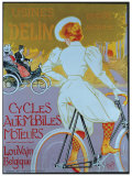 Cycles Delin Giclee Print by Georges Gaudy
