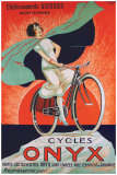 Cycles Onyx Giclee Print by Fritayre 