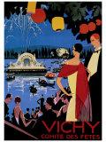 Vichy Comite des Fetes ジクレープリント : ロジェ・ブロデール