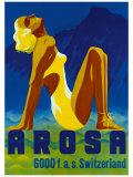 Arosa, Swizerland Giclee Print