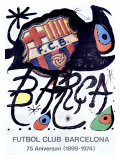 Futbol Club Barcelona Giclee Print by Joan Miró