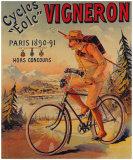 Cycles Vigneron Giclee Print by Charles Verneau