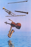 Music on High Samlertryk af Harvey Edwards