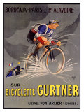 Bicyclette Gurtner Giclee Print by  Mich (Michel Liebeaux)
