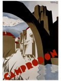 Camprodon Giclee Print by  Morell