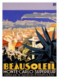 Beausoleil Giclee Print by Roger Broders