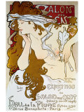 Salon des Cents Giclee Print by Alphonse Mucha