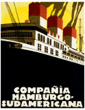 Compania Hamburgo-Sudamericana Giclee Print