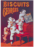 Biscuits Georges Posters