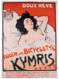 Bicyclette Kymris, Doux Reve Giclee Print by Jules-Alexandre Gr&#252;n