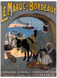 Le Maroc Giclée-tryk af Leon Carre