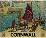 Cornwall Giclee Print by Ronald Lampitt