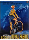 Bicicleta Royal Fabric Lámina giclée por  Mich (Michel Liebeaux)