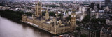 Aerial View of Big Ben, Houses of Westminster, London, England Photographic Print by  Panoramic Images