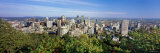 Cityscape of Parc Mont Royal, Montreal, Quebec, Canada Photographic Print by Panoramic Images