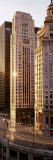 Skyscrapers in Michigan Avenue, Wacker Drive, Chicago, Illinois, USA Photographic Print by  Panoramic Images