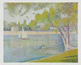 The Seine at Courbevoie, c.1886 Posters by Georges Seurat