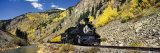 Steam Train on Durango and Silverton Narrow Gauge Railroad, Silverton, Colorado, USA Photographic Print by  Panoramic Images