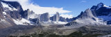 Rock Formations on a Mountain Range, Torres Del Paine National Park, Patagonia, Chile Photographic Print by  Panoramic Images