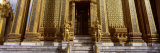 Statues in Front of a Temple, Phra Mondop, Grand Palace, Bangkok, Thailand Photographic Print by  Panoramic Images