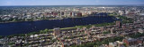 Aerial View of Back Bay, Cambridge, Boston, Massachusetts, USA Photographic Print by Panoramic Images 