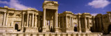 Facade of a Theater, Roman Theater, Palmyra, Syria Photographic Print by  Panoramic Images