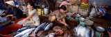 Four Women in a Fish Market, Hue, Vietnam Photographic Print by  Panoramic Images