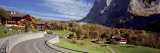 Road Passing Through a Landscape, Grindelwald, Interlaken, Switzerland Photographic Print by  Panoramic Images