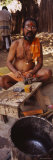 Mature Man Filling Pieces of Bronze, Tamil Nadu, India Photographic Print by Panoramic Images 