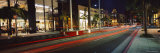 Stores Along the Road, Rodeo Drive, Los Angeles, California, USA Photographic Print by  Panoramic Images