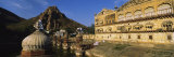Palace Near a Mountain, Alwar, Rajasthan, India Photographic Print by  Panoramic Images