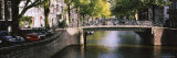 Bridge Across a Channel, Amsterdam, Netherlands Photographic Print by Panoramic Images 