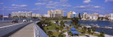 Ringling Causeway Bridge, Sarasota Bay, Sarasota, Florida, USA Photographic Print by  Panoramic Images