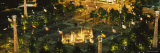 Fountains in a Park Lit Up at Night, Centennial Olympic Park, Atlanta, Georgia, USA Photographic Print by  Panoramic Images