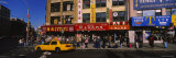 Yellow Taxi on the Road, Chinatown, Manhattan, New York City, New York, USA Photographic Print by  Panoramic Images