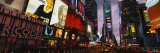 Buildings Lit Up at Night, Times Square, Manhattan, New York City, New York, USA Stampa fotografica di Panoramic Images,