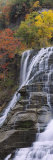 Ithaca Falls, Tompkins County, Ithaca, New York, USA Photographic Print by  Panoramic Images