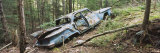 Abandoned Car in the Adirondack Mountains, New York, USA Photographic Print by  Panoramic Images