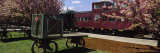 Train at Mount Hood Railroad Platform, Parkdale Station, Oregon, USA Photographic Print by  Panoramic Images