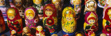 Close-Up of Russian Nesting Dolls, Bulgaria Photographic Print by  Panoramic Images