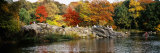 People Sitting on Rocks, Central Park, Manhattan, New York City, New York, USA Photographic Print by  Panoramic Images