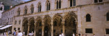People in Front of a Palace, Rector's Palace, Dubrovnik, Croatia Photographic Print by Panoramic Images