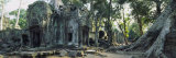 Old Ruins of a Building, Angkor Wat, Cambodia Photographie par Panoramic Images 